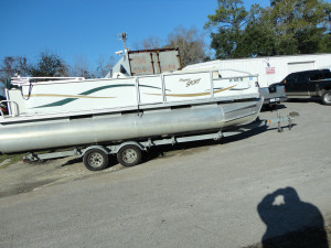 Super sport used pontoon boat for sale