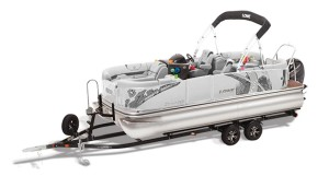 lowe extreme 210 pontoon boat for sale