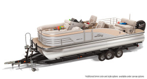 lowe infinity 250 cl pontoon boat for sale
