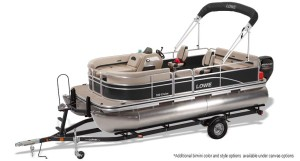 lowe ultra 160 cruise pontoon boat for sale