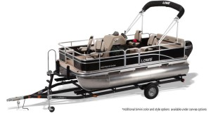 lowe ultra 162 fish and cruise pontoon boat for sale