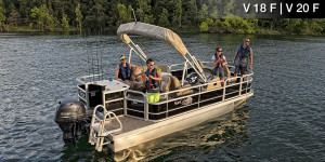 suncatcher G3 V20 F cheap pontoon for sale